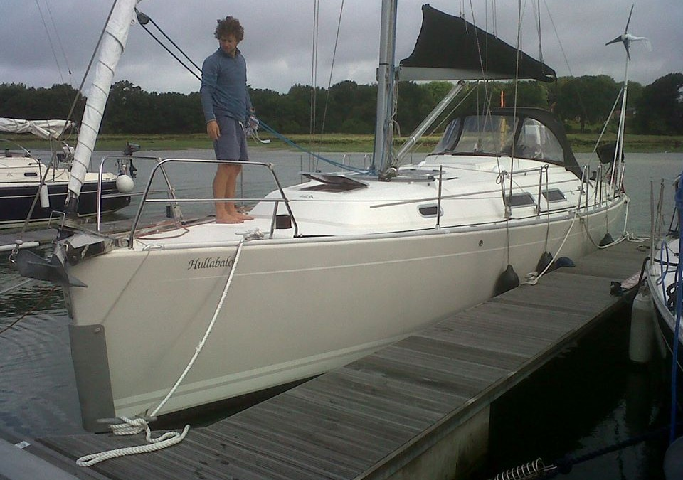 Thumbs Up Yacht Deliveries UK – 37ft Hanse Hamble to Fambridge