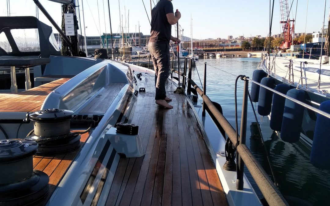 Rig Clean and Washdown Swan 78 – Badalona