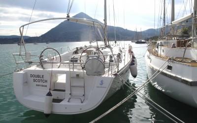 Beneteau 43 Yacht Delivery from Split, Croatia to Lekas, Greece
